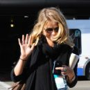 Alice Eve Arrives Into LAX Airport, 11 March 2010