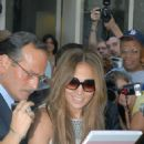 "Jennifer Lopez Outside ABC Studios After Appearing On ""Live With Regis And Kelly"" Show In New York City, July 26 2007"