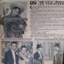 Leslie Caron - Cine Revelation Magazine Pictorial [France] (3 October 1957)