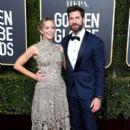 Emily Blunt and John Krasinski At The 76th Golden Globe Awards - Arrivals (2019)
