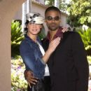Shemar Moore and Ashley Scott