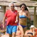 Elisabetta Gregoraci Shows Off Her Bikini Body