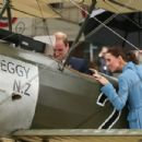 Prince Windsor and Kate Middleton visit to the Omaka Aviation Heritage Centre in New Zealand (April 10, 2014)