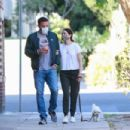 Ana De Armas and Ben Affleck – Out in Venice