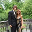 Alex Gaskarth and Lisa Ruocco at prom