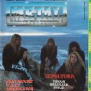 Sepultura - Metal Forces Magazine Cover [United Kingdom] (March 1989)
