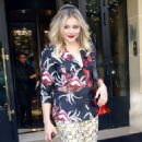 Chloe Moretz – Leaves the Plaza Athenee Hotel in Paris