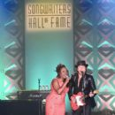 Ledisi Anibade Young and Guitarist Richie Sambora perform onstage at the Songwriters Hall Of Fame 46th Annual Induction And Awards at Marriott Marquis Hotel on June 18, 2015 in New York City. - 398 x 600