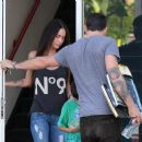 Megan Fox Out In Hollywood, October 9, 2010 - 454 x 383