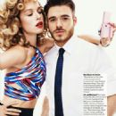 Heloise Guerin, Richard Madden - Glamour Magazine Pictorial [United States] (April 2015)