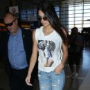 Kendall Jenner At Lax Airport In La