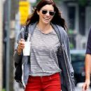 Jessica Biel: Walks around Queen Street West in Toronto
