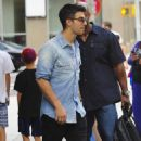 Joe Jonas continued his promotional tour for his new album, Fastlife, in New York City, August 19