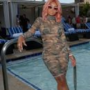 Blac Chyna Hosts Sapphire's Pool Party at Sapphire Pool and Day Club in Las Vegas, Nevada - May 6, 2017 - 454 x 624