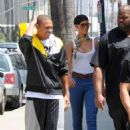Rihanna And Chris Out And About In LA - August 26, 2008