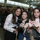 Bethany Mota attends Beautycon Festival London 2016 at Olympia, London on December 3, 2016 in London, England - 454 x 303