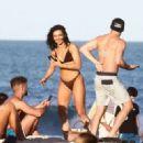 Alexandra Cane in Bikini on Miami Beach