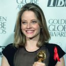 Jodie Foster At The 49th Annual Golden Globe Awards - Winner Best Actress for Silence of the Lambs (1992) - 454 x 690
