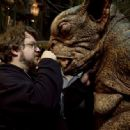 'Guillermo del Toro' behind the scene of Hellboy 2: The Golden Army.