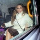 Kelly Brook – Leaving Global Radio studios in London