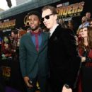 Benedict Cumberbatch and Chadwick Boseman - Premiere Of Disney And Marvel's 'Avengers: Infinity War' - Arrivals - 454 x 334