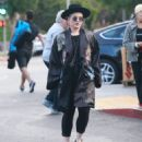 Kyle Richards was out and about in Beverly Hills, California on October 15, 2016 with her family