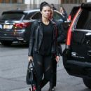 Adriana Lima – Arriving at her hotel in New York City