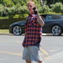 Justin Bieber is spotted out and about in Los Angeles, California on May 27, 2016