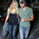 Anna Kournikova and Enrique Iglesias Nov. 15, 2010