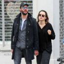 Daisy Ridley and Tom Bateman – Out in Primrose Hill - 454 x 710