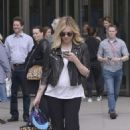 Fearne Cotton Seen Arriving At Bbc Radio 1 In London