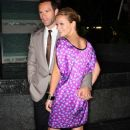 Becki Newton Arrives At The Fontainebleau Hotel Grand Opening