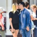 Sophie Turner and Joe Jonas share a kiss in New York City
