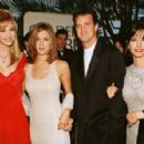 Lisa Kudrow, Jennifer Aniston, Matthew Perry and Courteney Cox At The 53rd Annual Golden Globe Awards (January 21, 1996) - 454 x 296