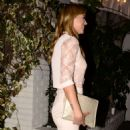 Adrianne Palicki Short Skirt at Chateau Marmont - 454 x 888
