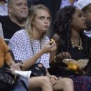 Cara Delevingne 2014 Summer Classic Charity Basketball Game In Nyc