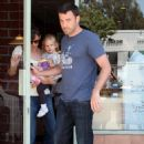 Jennifer Garner And Ben Affleck Take Their Daugter Violet To Lunch At The 'Early Bird' Restaurant In Brentwood, 2008-06-28