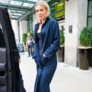 Vanessa Kirby – Heads to 'The Tonight Show Starring Jimmy Fallon' in New York