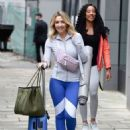 Gemma Merna – Arriving at a Yoga Class in Manchester - 454 x 606