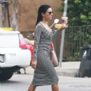 Eva Longoria Out In Los Angeles