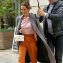 Emilia Clarke – Leaving her hotel in New York City