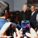 Jimmy Page attends the opening reception for
