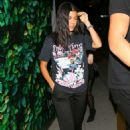 Kourtney Kardashian – Out for dinner with Larsa Pippen at Matsuhisa in Beverly Hills