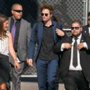 Robert Pattinson at 'Jimmy Kimmel Live' (August 03, 2017)