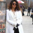 Priyanka Chopra – Filming 'Quantico' set in New York - 454 x 877