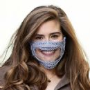 Rachel Shenton – Wearing protective mask at Sunday Brunch – London - 454 x 549