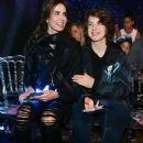 Luciana Gimenez and son Lucas Jagger - 2017 - 384 x 576