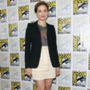 Crystal Reed: press conference for Teen Wolf during Comic-Con 2012 in San Diego