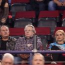 Maria Bekatorou and Antonis Alevizopoulos- Olympiakos vs. Real Madrid Basketball Match at SEF Athens - 454 x 390