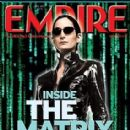 Carrie-Anne Moss - Empire Magazine Cover [United Kingdom] (3 July 2003)